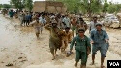 Lũ lụt đã làm ảnh hưởng tới người dân ở tỉnh Baluchistan, Pakistan