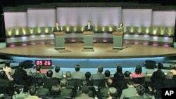 台湾最后一场总统参选人电视辩论会