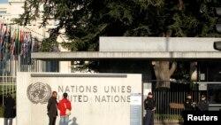 Kantor PBB di Jenewa, Swiss, 10 Desember 2015.