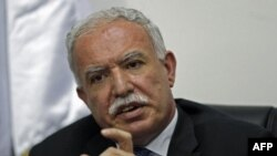 Plaestinski ministar inostranih poslova Rijad al-Malki