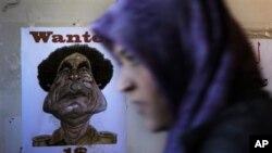 Potjernica za Moamarom Gadafijem u Bengaziju