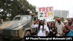 په زیمبابوی کې د موگابي ضد اعتراضونه