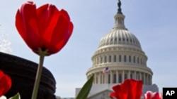 O edifício do Capitólio, em Washington, onde funciona o Congresso dos EUA