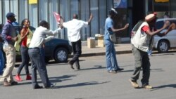 Report on MDC-T Youth Protest Filed By Patricia Mudadigwa