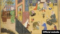 Sa'di and the Youth of Kashgar (Courtesy Arthur M. Sackler Gallery)