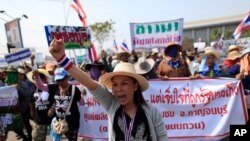 Thai Farmers Protest