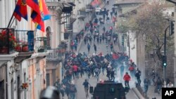 Declaran estado de emergencia en Ecuador