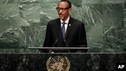 卢旺达总统卡加梅在联合国大会上讲话(2015年9月29日)