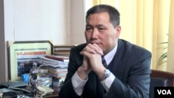 中国人权律师浦志强。(美国之音东方拍摄)