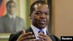 Zimbabwean central bank governor John Mangudya