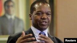 Zimbabwean central bank governor John Mangudya