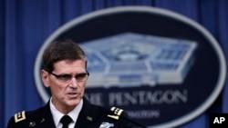 美國中央司令部司令約瑟夫沃特爾將軍。