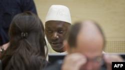 Kongoanski komandant Tomas Lubanga u sudnici u Hagu