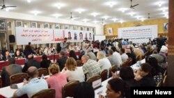 Arşîv: Civîna Endamên Meclisa Sûriya Demokrat