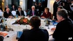 Встреча «нормандской четверки». Берлин, Германия, 19 октября 2016.
