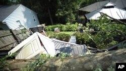 Последствия стихии в окрестностях Вашингтона, Округ Колумбия