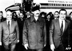 Iordaniya qiroli Husayn va Husni Muborakning Bag'dodga safari, 19 mart 1985