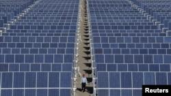 中國製太陽能板
