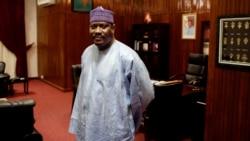 Me Ali Kadri au micro d'Abdoul-Razak Idrissa à Niamey