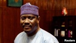 Hama Amadou, l'opposant nigérien, rival du président Mahamadou Issoufou lors du second tour de l'élection présidentielle du 20 mars 2016.