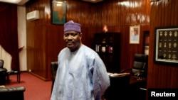 L'ancien Premier ministre Hama Amadou à l'assemblée nationale à Niamey, le 16 septembre 2013.