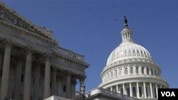 Para anggota Kongres AS tetap menemui jalan buntu dalam mengatasi beda pendapat soal anggaran, Kamis (7/4).