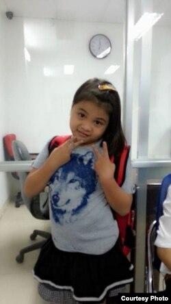 Em Hải có bệnh sử động kinh, và gia đình đã thông báo bệnh trạng của Hải cho nhà trường và bạn bè biết để tránh những trường hợp đáng tiếc xảy ra với em. (Ảnh: Facebook của Khải Hoàn, mẹ em Hải).