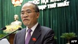 Chủ tịch Quốc hội Việt Nam Nguyễn Sinh Hùng.