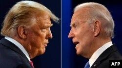 美国总统特朗普与前副总统拜登加紧在11月3日大选投票日前争取选民支持。