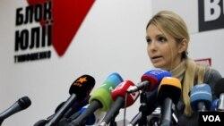 烏克蘭反對派領袖季莫申科