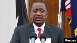 Le président kenyan Uhuru Kenyatta le 2 décembre 2014.