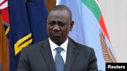 Le vice-président kenyan William Ruto