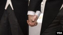 """Por primera vez la """"Encuesta de las comunidades estadounidenses"""" incluye datos sobre estas parejas."""