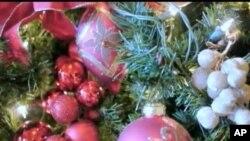 บรรยากาศเฉลิมฉลองเทศกาลคริสต์มาสแบบย้อนยุคในเมืองเล็กๆชานกรุงวอชิงตัน