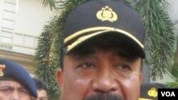 Berbagai pihak mendesak Presiden SBY segera menghentikan Kapolri Timur Pradopo karena seringnya insiden penembakan dilakukan polisi akhir-akhir ini (foto: dok).