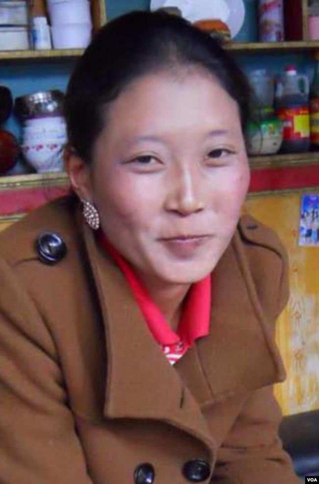 尼玛拉姆说,如果不是因为舅舅蒙冤,她还会是那个平凡的藏族女子(美国之音藏语组提供)