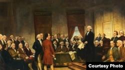 1787年的聯邦制憲會議(Junius Brutus Stearns)