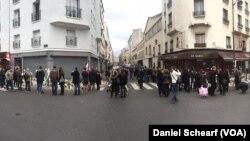 En cada ciudad de Francia hay lugares para expresar solidaridad con las víctimas y fortaleza frente al terror