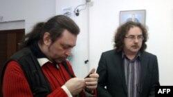 Правозащитники Андрей Юров и Владимир Чемерис