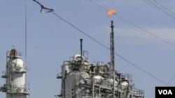 Kilang Minyak ExxonMobil di Bayton, Texas (Foto: dok).