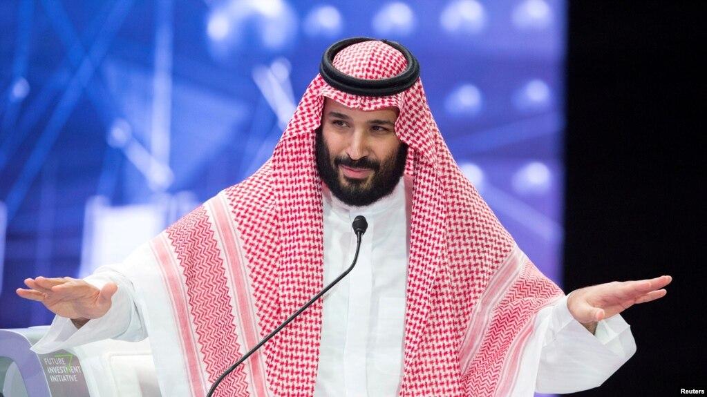 Thái tử Ả Rập Xê Út Mohammed bin Salman.