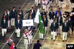آسٹریلیا کے شہر سڈنی میں سال 2000 میں ہونے والے سمر اولمپکس مقابلوں میں شرکت کرنے والا پاکستانی دستہ