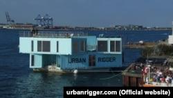 Model plutajućih stanova u luci u Kopenhagenu