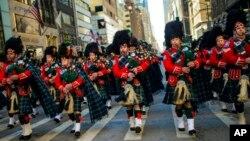 День Святого Патрика в Нью-Йорке