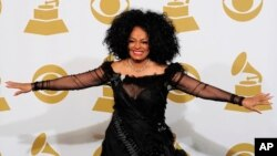 FILE - Diana Ross poses backstage at the 54th annual Grammy Awards in Los Angeles, Feb. 12, 2012.