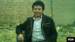西藏那曲藏人博客写手古珠(图片由美国之音藏语组提供)