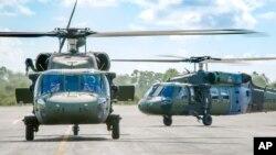 Helikopter Black Hawk buatan Sikorsky (foto: ilustrasi).