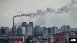 نمایی از پایتخت کره شمالی.