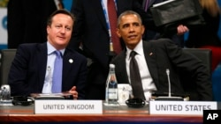 Дэвид Кэмерон и Барак Обама
