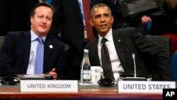 Los líderes de Gran Bretaña y Estados Unidos cenarán esta noche en la Casa Blanca.